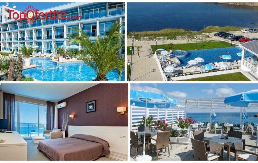 Хотел Ескада Бийч, Ахтопол! Нощувка + закуска, 2 външни басейна, чадър и шезлонг на цени от 40 лв. на човек