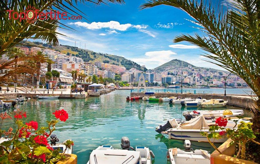 7-дневна екскурзия до Албания - Дурас! 6 нощувки + закуски и вечери в хотел 3/4*, транспорт с луксозен автобус, турситическа програма и екскурзоводско обслужване на цени от 364 лв.