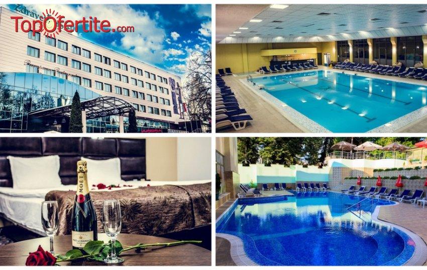 Обновеният Хотел Здравец Уелнес и СПА 4*, Велинград през Лятото! Нощувка + закуска, обяд, вечеря и Уелнес пакет на цени от 59,50 лв на човек