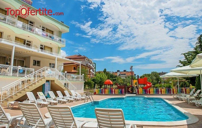 Хотел Панорама 3*, Свети Влас на 50м от плажа! Нощувка + закуска, вечеря, басейн и шезлонг на цени от 39 лв. на човек