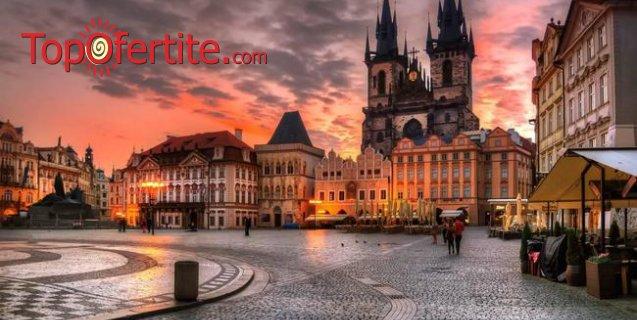 5-дневена екскурзия Златна есен в Будапеща и Прага с възможност за посещение на Дрезден и Кутна Хора + 3 нощувки със закуски, транспорт и панорамни обиколки на Прага и Будапеща само за 209 лв.
