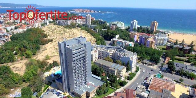 Хотел Каменец, Несебър на 2 минути от плажа! Нощувка на база All inclusive + басейн, шезлонг и чадър на цени от 43, 40 лв. на човек + дете до 12г. Безплатно
