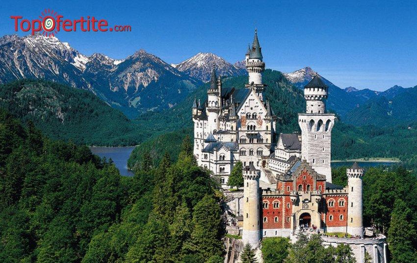 8-дневна екскурзия до Баварските замъци и Италиански езера + 7 нощувки със закуски, транспорт и екскурзоводско обслужване само за 920 лв.