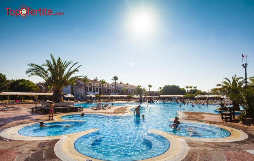 Хотел Club Hotel Turan Prince World 5*, Анталия, Турция, първа линия! 4 нощувки на база All Inclusive + самолет, летищни такси, трансфер и Аква парк само за 913 лв на човек