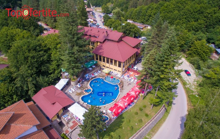 Хотел Балкан 3*, село Чифлик! Нощувка + закуска, топъл минерален басейн, джакузи, топила и Релакс зона на цени от 45 лв. на човек