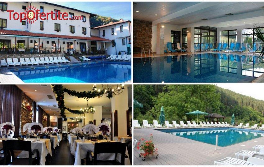 Септемврийски празници в Хотел Фея, село Чифлик! 3 нощувки + закуски, вечери, външен и вътрешен минерален басейн и СПА пакет на цени от 187,50 лв. на човек