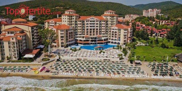Хотел Роял Парк 4*, Елените първа линия! Нощувка на база Аll inclusive + аквапарк, лунапарк и външен басейн на цени от 65 лв. на човек