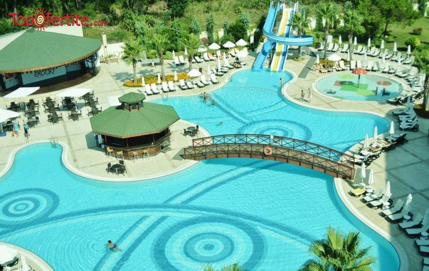 Eldar Resort  4+*  Кемер, Турция, първа линия! 4 нощувки на база ULTRA All Inclusive + самолет, летищни такси, трансфер само за 646 лв на човек