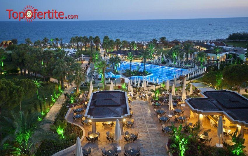 Crystal Tat Beach Golf Resort & SPA 5 * Белек, Турция! 7 нощувки на база Ultra All Inclusive + самолет, летищни такси, трансфер на цени от 863 лв. на човек