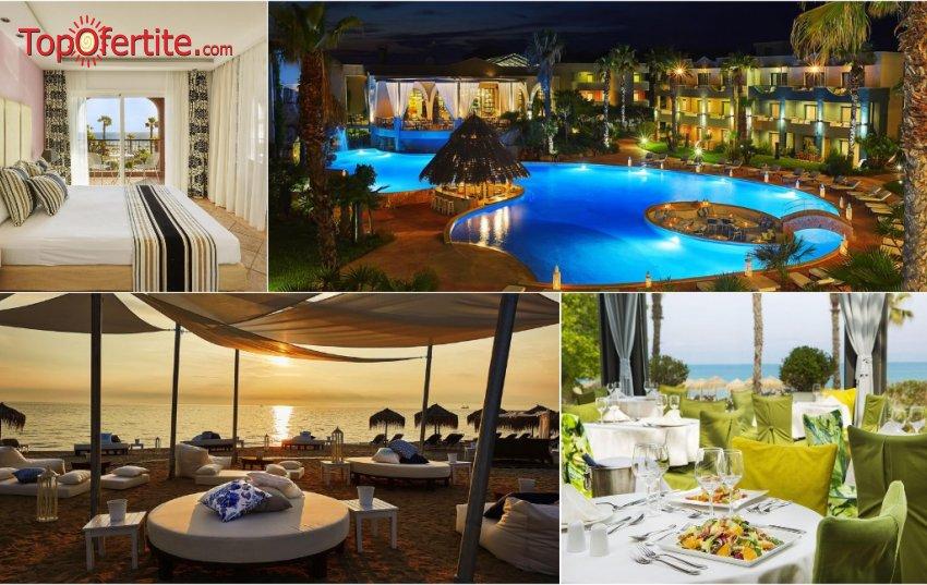Last Minute!! Ilio Mare Beach Hotel 5*, Скала Прину, Гърция! Нощувка + закуска, вечеря и ползване на басейн на цени от 65.10 лв. на човек