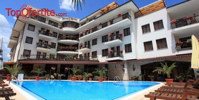 Хотел Феста Мария Ревас 5*, Слънчев бряг! Нощувка в апартамент + закуска с опция за вечеря, външен басейн с шезлонг и чадър само за 47 лв