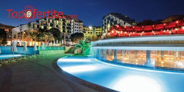 Cornelia De Luxe Resort 5*, Белек, Турция за Нова година! 4 нощувки на база Deluxe All Inclusive + Новогодишна вечеря с музика на живо, СПА център, самолет, летищни такси, трансфер само за 1068 лв на човек