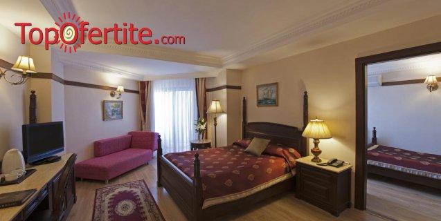 Delphin Palace 5*, Анталия, Турция за Нова година! 4 нощувки на база ULTRA All Inclusive + Новогодишна вечеря, СПА център, самолет, летищни такси, трансфер само за 924 лв на човек
