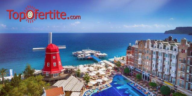 Orange County Resort Hotel 5*, Кемер, Турция за Нова година! 4 нощувки на база All Inclusive + Новогодишна вечеря, самолет, летищни такси, трансфер само за 1053,70 лв на човек