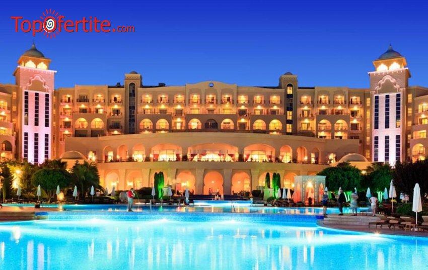 Spice Hotel & Spa 5*, Белек, Турция за Нова година! 4 нощувки на база ULTRA All Inclusive + Новогодишна вечеря, СПА център, самолет, летищни такси, трансфер само за 936,50 лв на човек