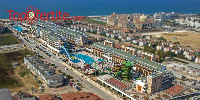 Crystal Waterworld Resort & Spa 5*, Белек, Турция! 7 нощувки на база Ultra All Inclusive + самолет, летищни такси и трансфер само за 930 лв на човек