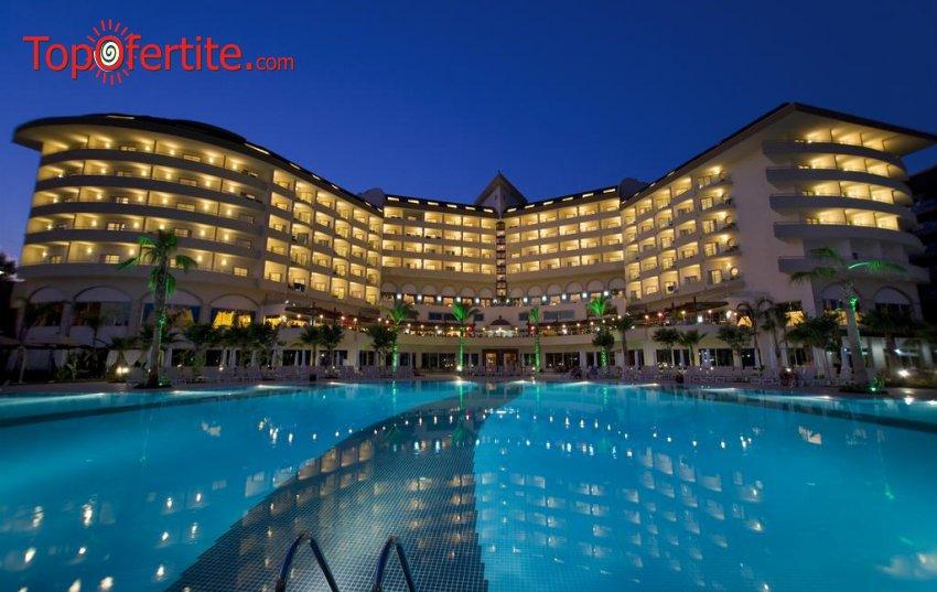 Saphir Resort & SPA 5*, Алания, Турция! 7 нощувки на база All Inclusive + самолет, летищни такси и трансфер само за 884 лв. на човек
