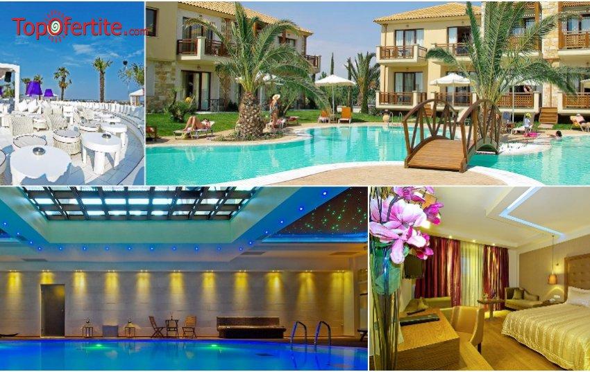Sentido Mediterranean Village 5*, Катерини, Гърция за Нова година! 3 нощувки + закуски, вечери, празнична Новогодишна вечеря + Уелнес център на цени от 449 лв. на човек