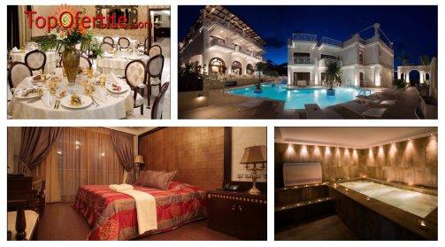 Royal Palace Resort & Spa 4*, Пиерия, Гърция за Нова година! 2 нощувки + закуски, вечери, Гала вечеря, Уелнес център и безплатно дете до 11,99г. на цени от 247 лв. на човек