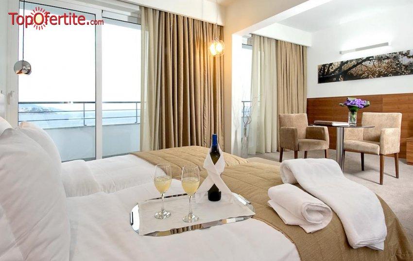 Lucy Hotel 5*, Кавала, Гърция за Нова година! 3 нощувки + закуски и Гала вечеря с неограничена консумация на вино на цени от 408.80 лв на човек