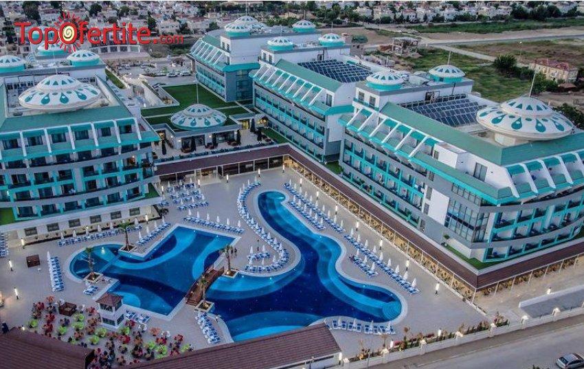 Sensitive Premium Resort & SPA 5*, Белек, Турция за Нова година! 4 нощувки на база All Inclusive + СПА център, самолет, летищни такси, трансфер само за 731 лв на човек