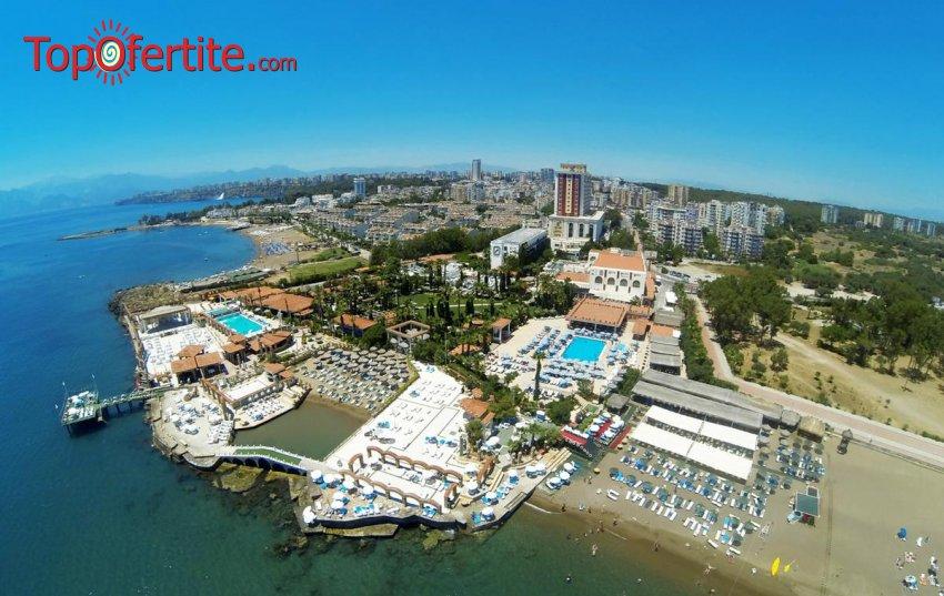 Club Hotel Sera 5 *, Анталия, Турция за Нова година! 4 нощувки на база Ultra All Inclusive + Новогодишна вечеря, СПА център, самолет, летищни такси, трансфер само за 772.50 лв на човек
