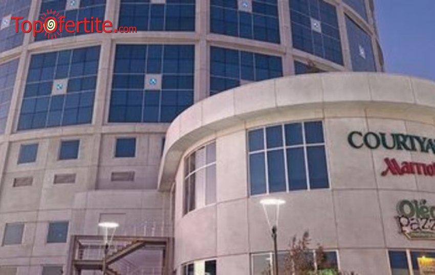 Ранни записвания за 4-дневна Новогодишна екскурзия до Истанбул! 3 нощувки в хотел Courtyard By Marriott Istanbul International Airport 4* + 3 закуски, транспорт с лицензиран автобус и възможност за Гала вечеря на яхта по Босфора само за 180 лв на човек