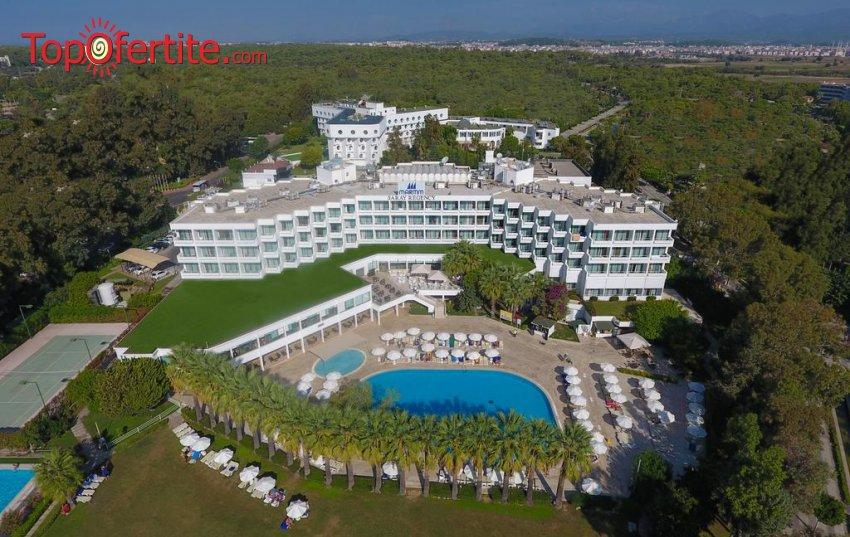 Maritim Saray Regency Resort & SPA 5*, Сиде, Турция за Нова година! 4 нощувки на база All Inclusive + Новогодишна вечеря, СПА център, самолет, летищни такси, трансфер само за 703.70 лв на човек