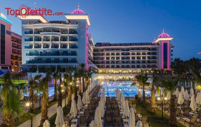 Side La Grande Resort & Spa 5*, Сиде, Турция за Нова година! 4 нощувки на база All Inclusive + Новогодишна вечеря, СПА център, самолет, летищни такси, трансфер само за 788 лв на човек