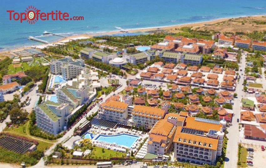 Diamond Beach Hotel & SPA 5*, Сиде, Турция за Нова година! 4 нощувки на база All Inclusive + Новогодишна вечеря, СПА център, самолет, летищни такси, трансфер само за 611лв на човек