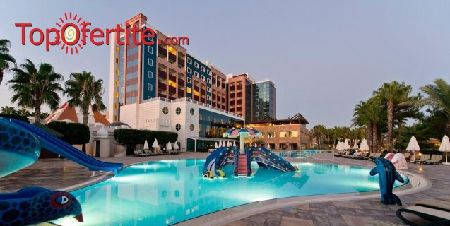 Kamelya Selin Hotel 5*, Сиде, Турция за Нова година! 4 нощувки на база All Inclusive + Новогодишна вечеря, СПА център, самолет, летищни такси, трансфер само за 762.50лв на човек