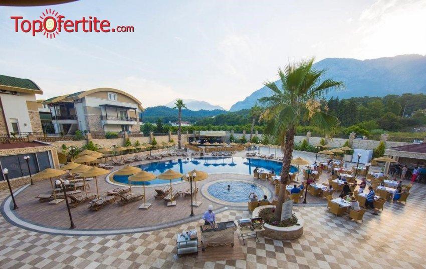 Kemer Botanik Resort 4*, Кемер, Турция за Нова година! 4 нощувки на база All Inclusive + Новогодишна вечеря, СПА център, самолет, летищни такси, трансфер само за 641.20 лв на човек
