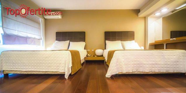 Хотел Capsis 4*, Солун, Гърция за Нова година! 3 нощувки + закуски, опция за Гала вечеря с жива музика и Уелнес пакет и безплатно дете от 0-11,99г. на цени от 251.70 лв. на човек