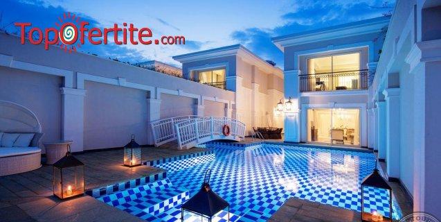 Titanic Deluxe Golf Belek 5*, Белек, Турция за Нова година! 4 нощувки на база High Class All Inclusive + Новогодишна вечеря, СПА център, самолет, летищни такси, трансфер на цени от 1020.50 лв на човек