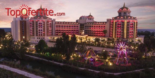 Delphin Be Grand Resort 5 *, Анталия, Турция за Нова година! 4 нощувки на база Ultra All Inclusive + Новогодишна вечеря, СПА център самолет, летищни такси, трансфер на цени от 926 лв на човек