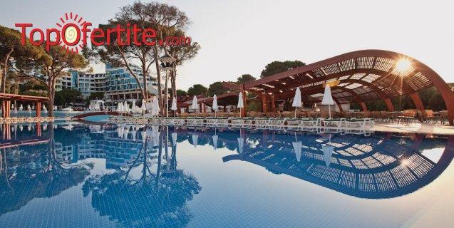 Cornelia De Luxe Resort 5*, Белек, Турция за Нова година! 4 нощувки на база Deluxe All Inclusive + Новогодишна вечеря с музика на живо, СПА център, самолет, летищни такси, трансфер на цени от 1124.30 лв на човек