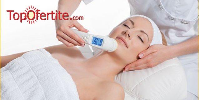 Антиейдж лифтинг на лице без скалпел, с израелска апаратна систema Wish Pro от Kristy's Beauty Studio на цени от 60 лв.