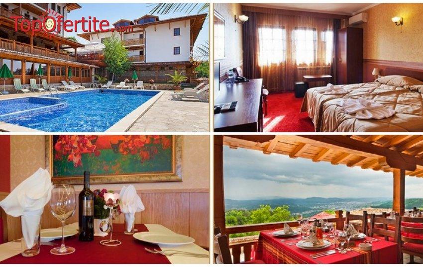 Парк-хотел Севастократор 3*, Арбанаси през Уикенда! 2 нощувки + закуски, вечери, сауна и парна баня само за 110 лв. на човек