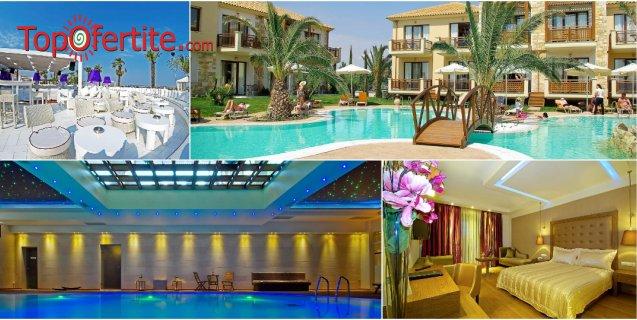 Sentido Mediterranean Village 5*, Катерини, Гърция за Нова година! 3 нощувки + закуски, вечери, празнична Новогодишна вечеря + Уелнес център на цени от 445 лв. на човек