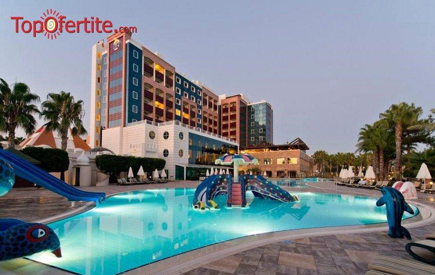 Kamelya Selin Hotel 5*, Сиде, Турция за Нова година! 4 нощувки на база All Inclusive + Новогодишна вечеря, СПА център, самолет, летищни такси, трансфер на цени от 723.50лв на човек