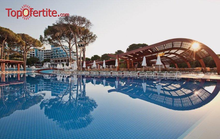 Cornelia De Luxe Resort 5*, Белек, Турция за Нова година! 4 нощувки на база Deluxe All Inclusive + Новогодишна вечеря с музика на живо, СПА център, самолет, летищни такси, трансфер на цени от 905.30 лв на човек