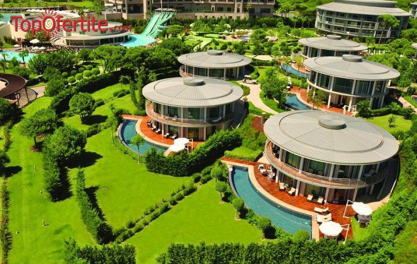Calista Luxury Resort 5*, Белек, Турция за Нова година! 4 нощувки на база A'la Carte All Inclusive + Новогодишна вечеря, СПА център, самолет, летищни такси, трансфер на цени от 1247.20 лв на човек