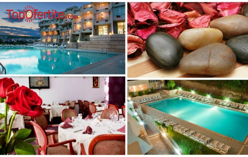 Хотел Панорама Уелнес и СПА 3* Сандански! Нощувка + закуска, 1 процедура йонна детоксикация, Уелнес пакет и опция за обяд на цени от 27,50 лв. на човек