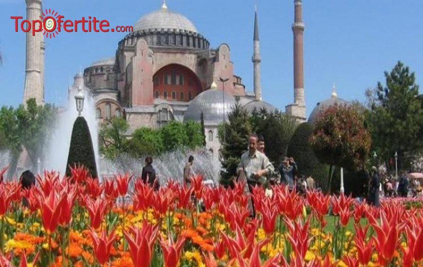 4-дневна екскурзия - Истанбулска Приказка - Фестивала на лалето + 2 нощувки със закуски и бонус помещение на църквата Първо Число само за 94 лв.