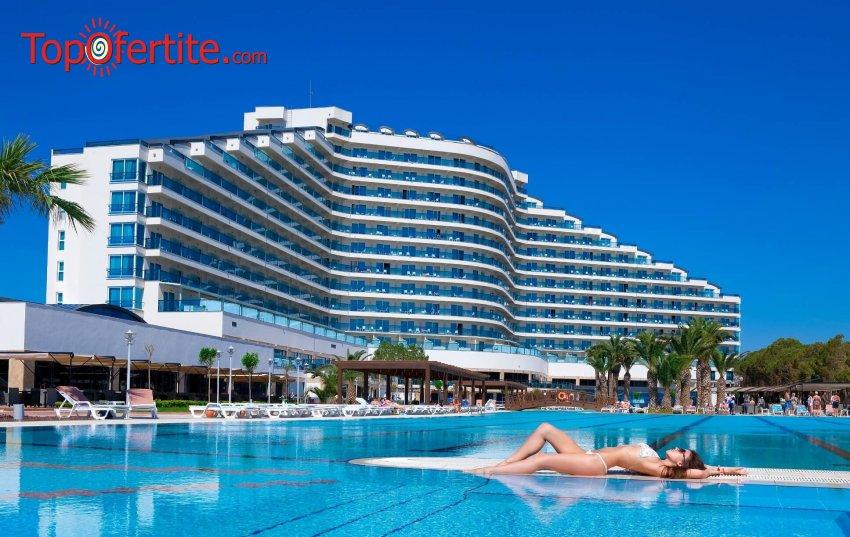 РАННИ ЗАПИСВАНИЯ Venosa Beach Resort & SPA 5*, Дидим, Турция! 5, 7 или 9 нощувки с автобус или собствен транспорт на база All Inclusive на цени от 432лв на човек