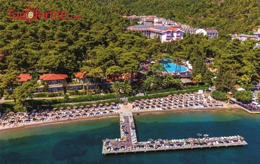 Великден или 1 Май в хотел Grand Yazici Club Turban 5*, Мармарис, Турция! 5 или 7 нощувки с автобус или собствен транспорт на база Ultra All Inclusive на цени от 360лв на човек