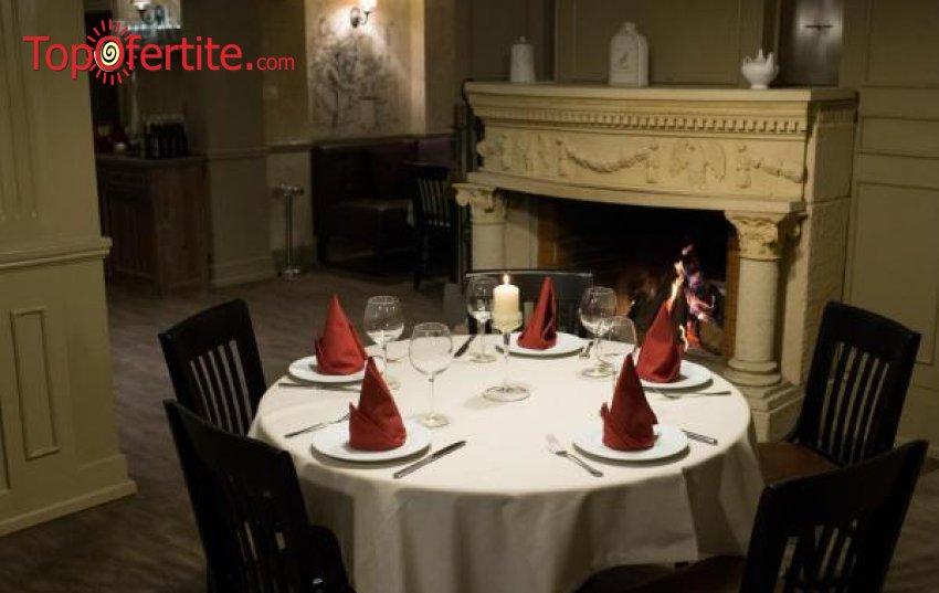 Куверт за Новогодишна гала вечеря в Хотел-Ресторант Александър-Адви 3*, София - Драгалевци с шоу програма и томбола с награди само за 104 лв. на човек