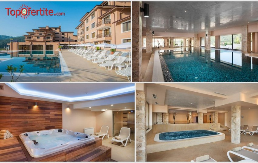 Хотел Вела Хилс 4*, Велинград! Нощувка + закуска, открити и закрити басейни, джакузита и СПА пакет на цени от 56 лв. на човек
