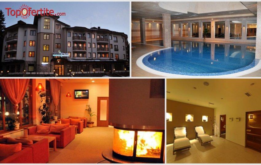 Апартаменти за гости Вила Парк, Боровец! Нощувка + закуска или закуска и вечеря + 14-метров вътрешен отопляем басейн, Уелнес пакет на цени от 38,50 лв. на човек