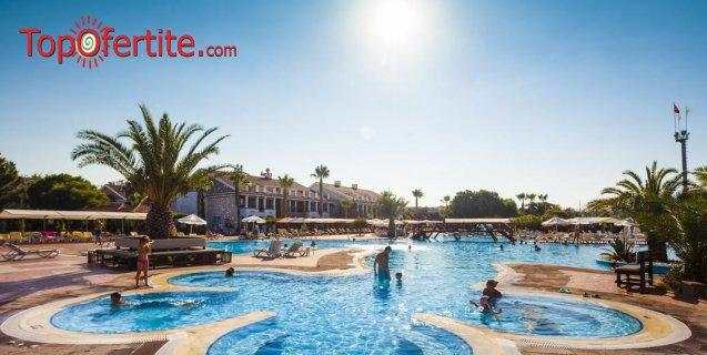 РАННИ ЗАПИСВАНИЯ Club Hotel Turan Prince World 5*, Анталия, Турция, първа линия! 2 или 4 нощувки на база All Inclusive + самолет, летищни такси, трансфер само за 557 лв на човек